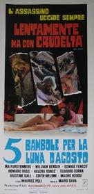 5 bambole per la luna d'agosto - Italian Movie Poster (xs thumbnail)