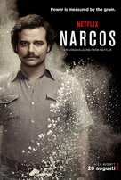 """Narcos"" - Swedish Movie Poster (xs thumbnail)"