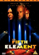 The Fifth Element - British DVD movie cover (xs thumbnail)
