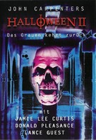 Halloween II - German DVD cover (xs thumbnail)