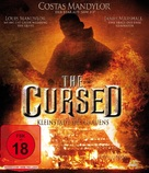 The Cursed - German Blu-Ray cover (xs thumbnail)