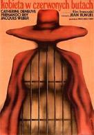 La femme aux bottes rouges - Polish Movie Poster (xs thumbnail)