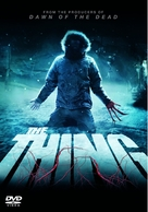 The Thing - DVD cover (xs thumbnail)