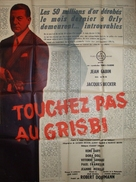 Touchez pas au grisbi - French Movie Poster (xs thumbnail)