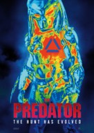 The Predator - Swedish Movie Poster (xs thumbnail)