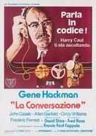 The Conversation - Italian Movie Poster (xs thumbnail)