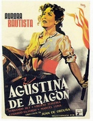 Agustina de Aragón - Mexican Movie Poster (xs thumbnail)