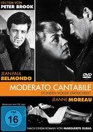 Moderato cantabile - German DVD cover (xs thumbnail)