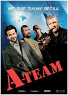 The A-Team - Slovak Movie Poster (xs thumbnail)