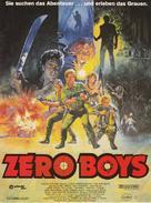 The Zero Boys - German Movie Poster (xs thumbnail)