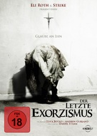 The Last Exorcism - German DVD cover (xs thumbnail)
