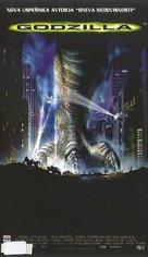 Godzilla - Slovenian VHS movie cover (xs thumbnail)