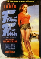 La donna del fiume - German Movie Poster (xs thumbnail)