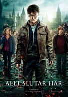 Harry Potter and the Deathly Hallows: Part II - Swedish Movie Poster (xs thumbnail)