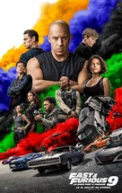 Fast & Furious 9 - French Movie Poster (xs thumbnail)
