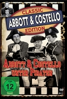 Abbott and Costello Meet Captain Kidd - German Movie Cover (xs thumbnail)