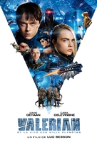 Valerian and the City of a Thousand Planets - French Movie Cover (xs thumbnail)