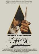A Clockwork Orange - Spanish Movie Poster (xs thumbnail)