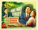 One Way Street - Movie Poster (xs thumbnail)