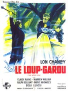 The Wolf Man - French Movie Poster (xs thumbnail)
