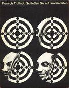 Tirez sur le pianiste - German Movie Poster (xs thumbnail)