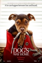 A Dog's Way Home - New Zealand Movie Poster (xs thumbnail)