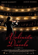 The Devil's Violinist - Italian Movie Poster (xs thumbnail)