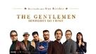 The Gentlemen - Portuguese Movie Poster (xs thumbnail)