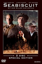 Seabiscuit - German DVD cover (xs thumbnail)