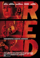 RED - Hungarian Movie Poster (xs thumbnail)