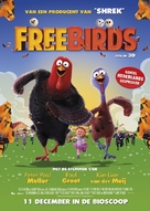 Free Birds - Dutch Movie Poster (xs thumbnail)