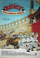 Astérix et la surprise de César - Swedish Movie Poster (xs thumbnail)