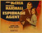 Espionage Agent - Movie Poster (xs thumbnail)