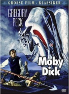 Moby Dick - German DVD cover (xs thumbnail)