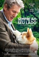 Hachiko: A Dog's Story - Brazilian Movie Poster (xs thumbnail)