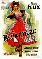 La bella Otero - Spanish Movie Poster (xs thumbnail)