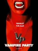 Les dents de la nuit - German Movie Cover (xs thumbnail)
