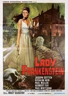 La figlia di Frankenstein - Italian Movie Poster (xs thumbnail)