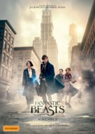 Fantastic Beasts and Where to Find Them - Australian Movie Poster (xs thumbnail)