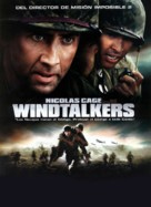 Windtalkers - Spanish DVD movie cover (xs thumbnail)