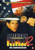 American Ninja 2: The Confrontation - Dutch DVD movie cover (xs thumbnail)