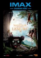 Island of Lemurs: Madagascar - Czech Movie Poster (xs thumbnail)