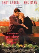 When a Man Loves a Woman - Spanish Movie Poster (xs thumbnail)
