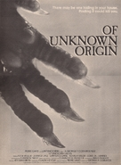Of Unknown Origin - Movie Poster (xs thumbnail)