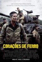 Fury - Brazilian Movie Poster (xs thumbnail)