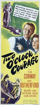 Two O'Clock Courage - Movie Poster (xs thumbnail)