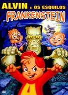 Alvin and the Chipmunks Meet Frankenstein - Brazilian DVD movie cover (xs thumbnail)