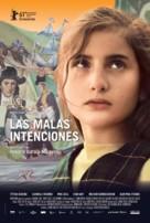 Las malas intenciones - Argentinian Movie Poster (xs thumbnail)
