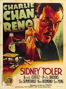 Charlie Chan in Reno - French Movie Poster (xs thumbnail)