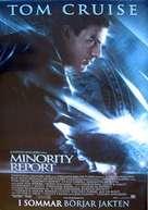 Minority Report - Swedish Movie Cover (xs thumbnail)